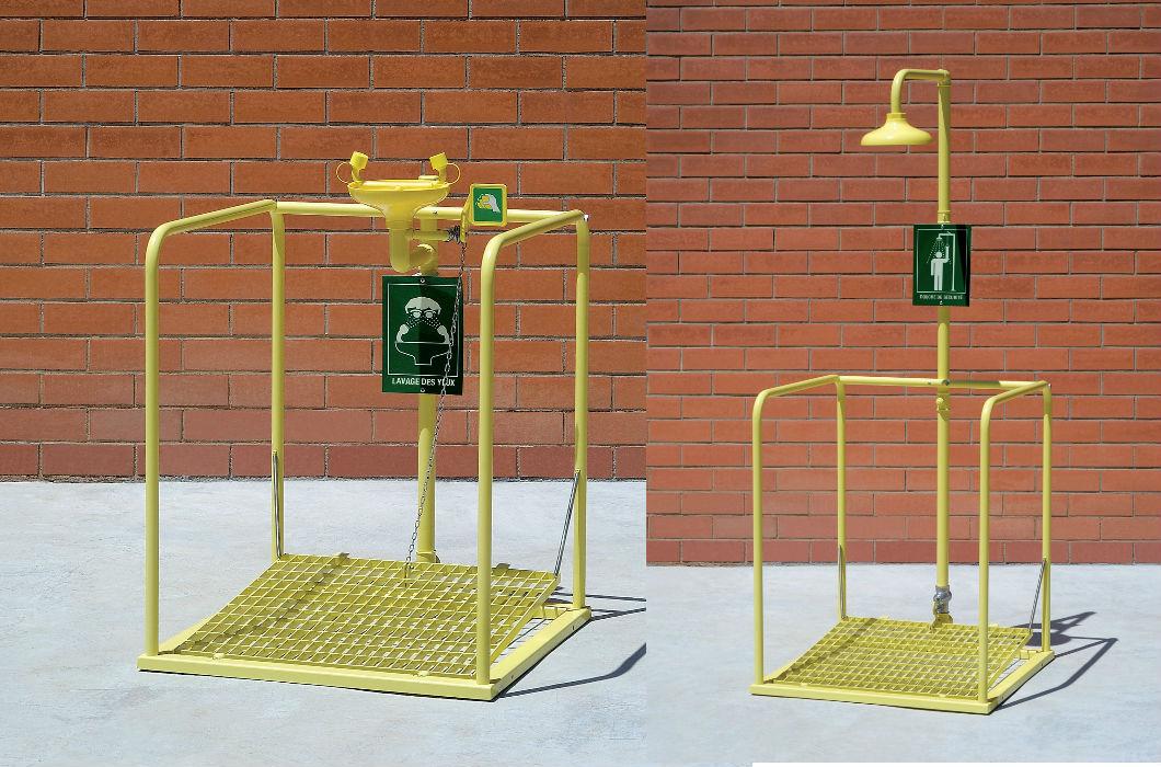 Stations de décontamination
