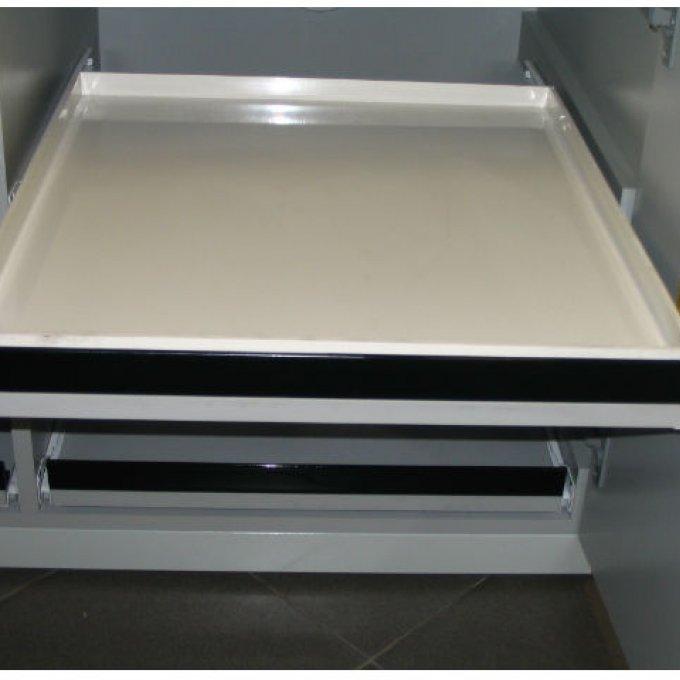 Etagère coulissante en PP (armoire sous paillasse)